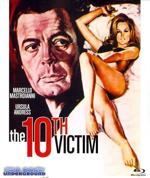 10TH VICTIM BY MASTROIANNI,MARCELL (Blu-Ray)